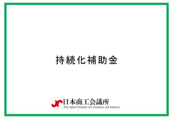 持続化補助金 日本商工会議所